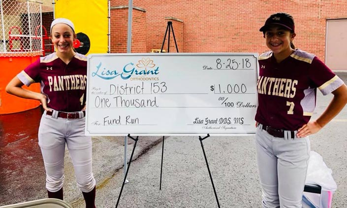 giving back to the community grant orthodontics